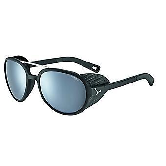 Cebe Summit Sunglasses, Unisex Adult, Matte Black Silver, M