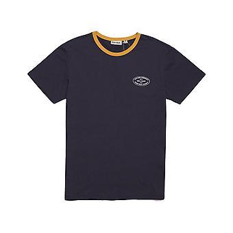 Rhythm Ringer T-Shirt Short Sleeve T-Shirt in Midnight Navy
