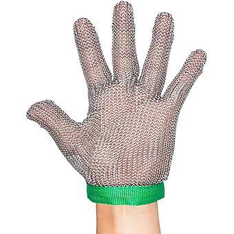 Schnittschutzhandschuhe 304L Edelstahlgewebegewebe arbeitet schneiden Schutzhandschuhe GL08