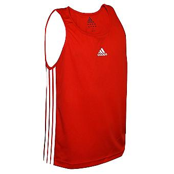 Adidas Boxerská vesta červená - XLarge