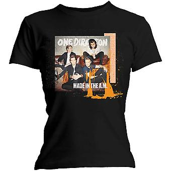 One Direction - Made in the A.M. Naisten X-Large T-paita - Musta