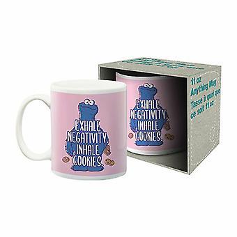 Taza de cerámica de Aquarius Sesame Street