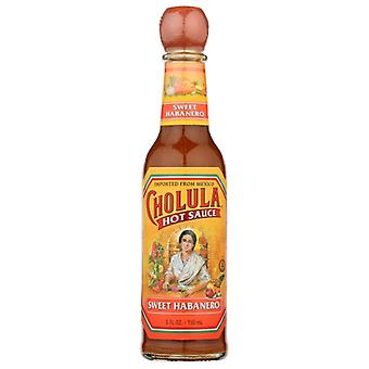 Cholulasaus Hot Sweet Habanero, Doos van 12 X 5 Oz