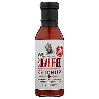 G Hughes Ketchup Sugar Free, Case of 6 X 13 Oz