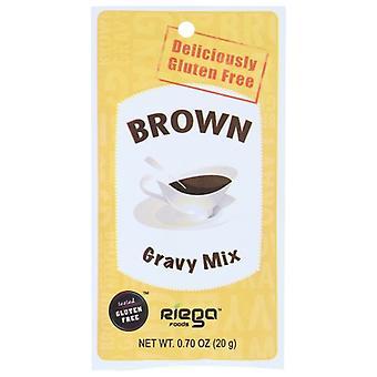 Riega Mix Gravy Brown, Case of 8 X 0.7 Oz