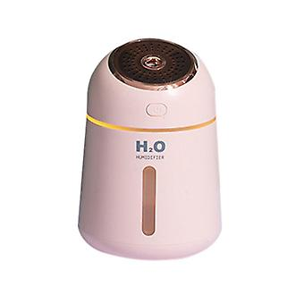 Pink 9.6x9.6x13.9cm usb aromatherapy air humidifier homi2592