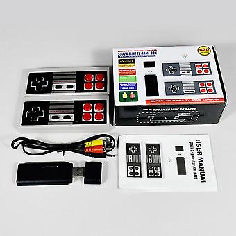 Powkiddy pk02 video game console built in 620 classic games usb tv game console stick retro 8 bit player wireless controller