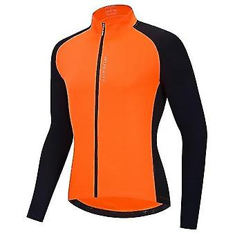 Bicycle bike jerseys men cycling jersey breathable full zipper long sleeves mtb shirt  riding clothing shirt