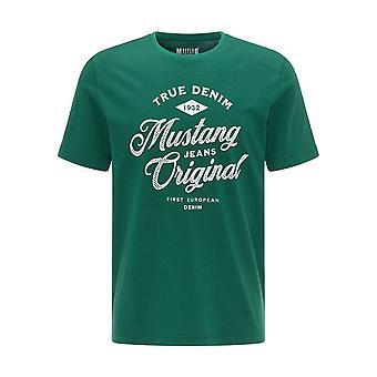 Mustang Shoes Alex C Print 10090396440 universal all year men t-shirt