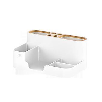 Creative ABS Home Office Organizer Fernbedienung Aufbewahrungsbox Stifthalter Desktop Bleistift Kleinigkeiten