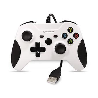 Controlador com fio chronus para Xbox One, Controlador Xbox com 3,5 mm de áudio de fone de ouvido (Branco)