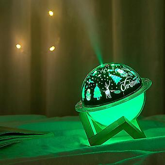 Starry Sky Projection Lamp Air Humidifier Aromatherapy Diffuser