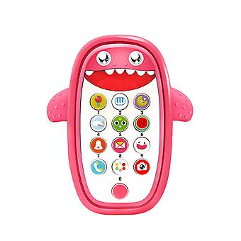 Homemiyn Kid Smart Toy Mobile Early Learning Maschine Hai Form Spielzeug