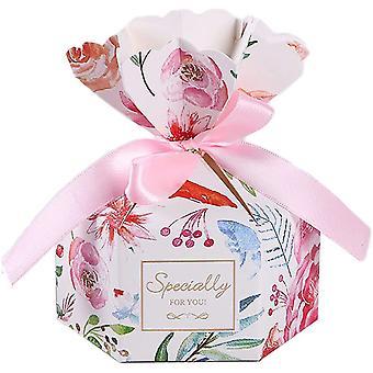 Hochzeits-Süßigkeitenbox, 50-teilige Geschenkbox