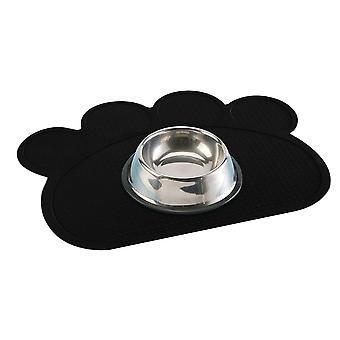 Pet Food Mat Cat Dog Feeding Mat Silicone Bowl Mat Waterproof Placemat