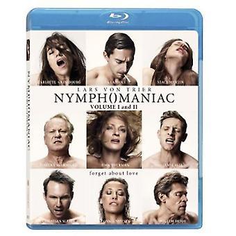 NYMFOMAN Vol 1 & Vol 2 [Blu-ray] USA import