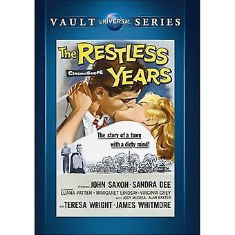 Rastløse år [DVD] USA importerer