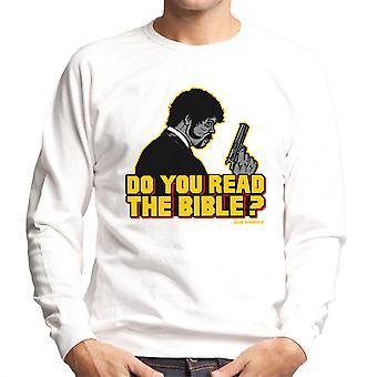 De herder Jules Winnfield Pulp Fiction mannen Sweatshirt