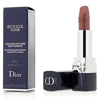 Christian Dior Rouge Dior Couture Farbkomfort & Lippenstift tragen - 683 Rendez-vous - 3.5g/0.12oz