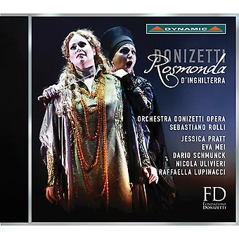 Donizetti / Pratt / Mei / Schmunck / Ulivieri - Donizetti: Rosmonda D'Inghilterra [CD] USA import