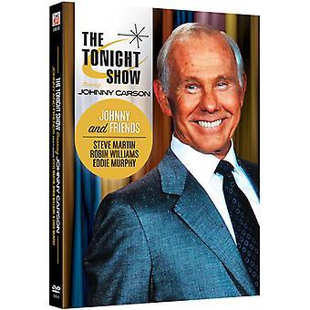 Tonight Show Starring Johnny Carson: Johnny & [DVD] USA import