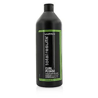 Matrix Total Results Curl Please Jojoba Oil Conditioner (for Nurturing Curls) - 1000ml/33.8oz
