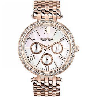 Caravelle New York Damen Uhr 44N101 Glanz