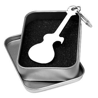 Guitar Keyring & Bottle Opener - Keychain Musical Gift