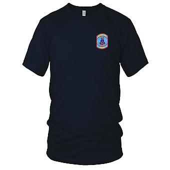 US Army - Aviation Logistics School Embroidered Patch - Mens T Shirt