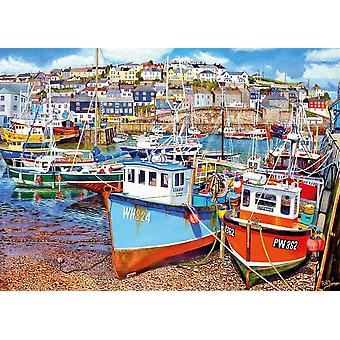 Gibsons Mevagissey Hafen Jigsaw Puzzle (1000 Teile)
