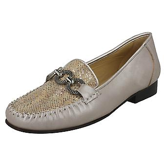 Ladies Van Dal Leather Moccasins Bethany