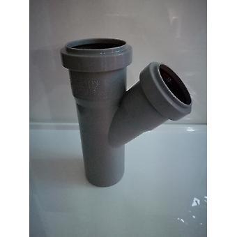 Insérer des déchets raccords - branche 45 degré (forme y) - 32mm de diamètre