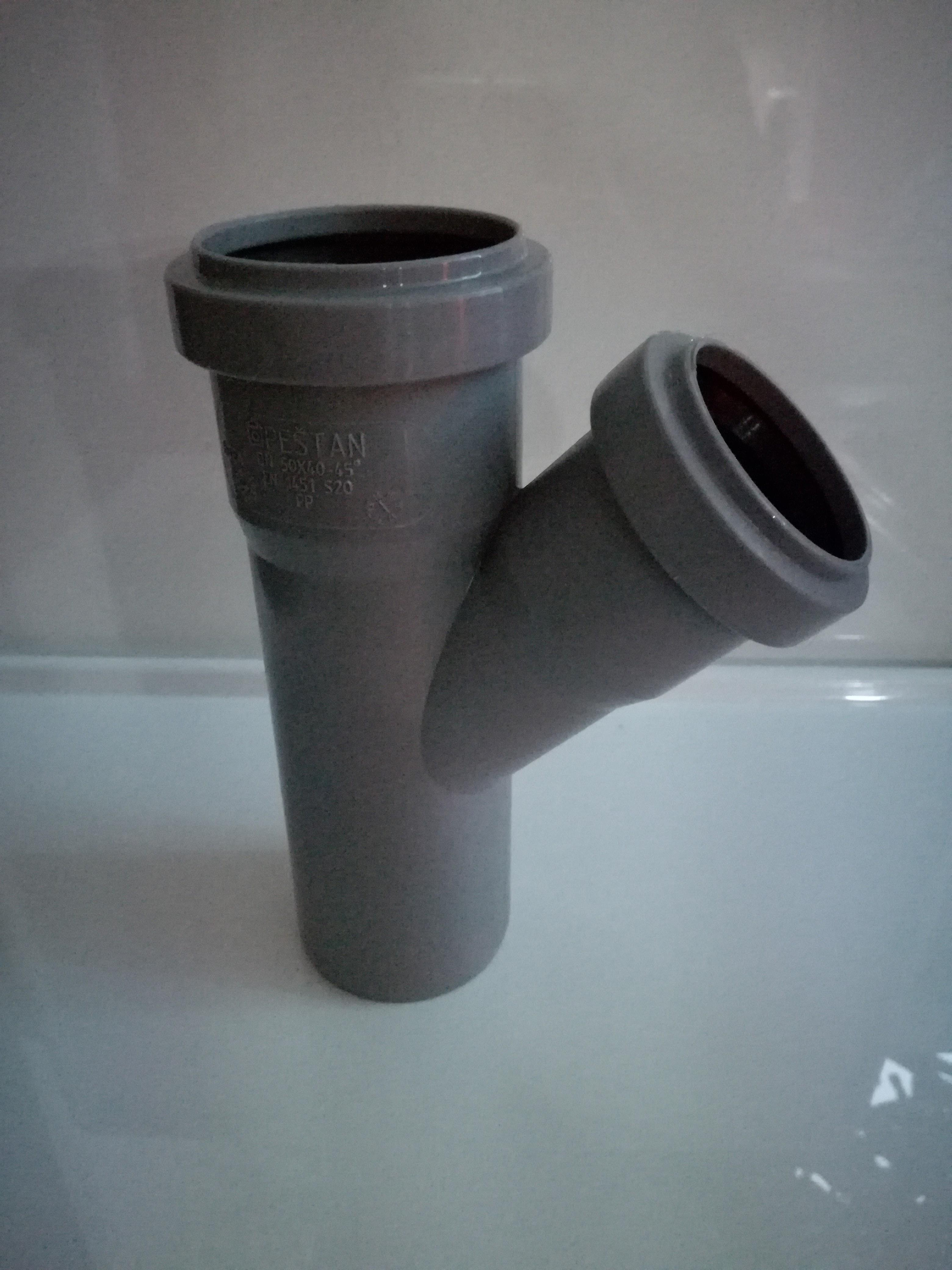 Push-fit Waste Fittings - Branch 45 Degree (y shape) - 32mm Diameter