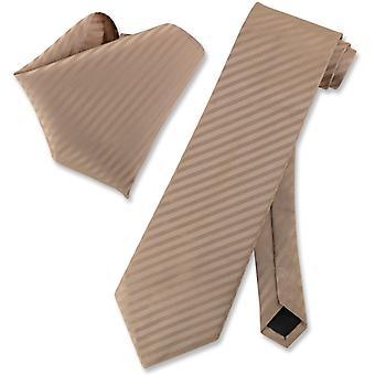 ベスビオ ナポリ ストライプ ネクタイ ・ ハンカチ ネクタイをマッチング