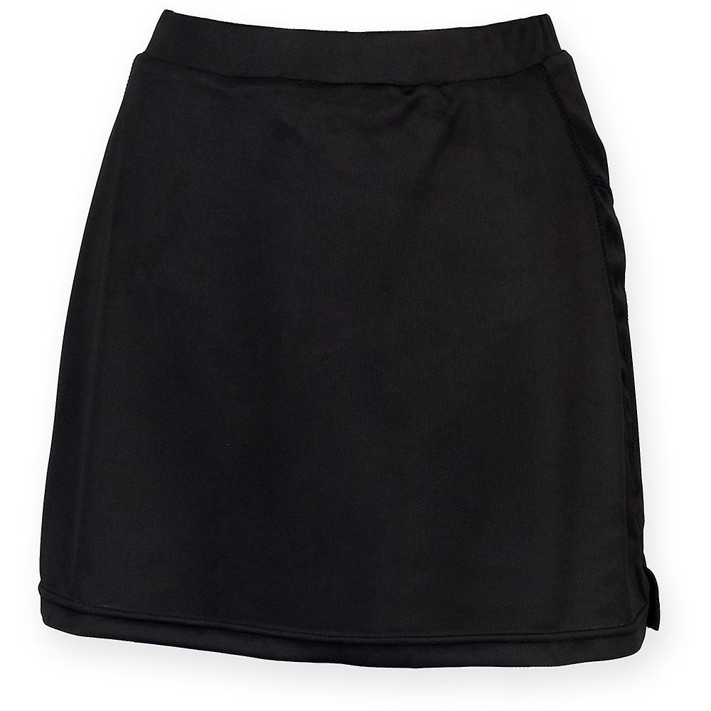 Finden & Hales Ladies Skort Skirt / Short Breathable Wicking