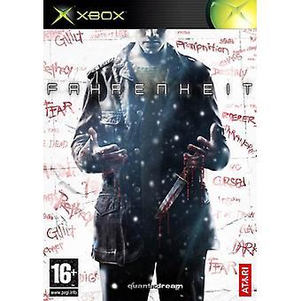 Fahrenheit (Xbox)-nieuw