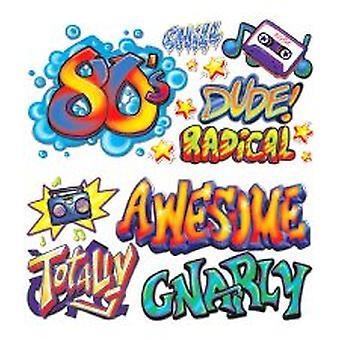 80's Graffiti Props