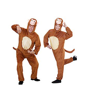 Plush Funny Monkey (Hooded Jumpsuit With Mask)