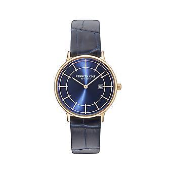 Kenneth Cole New York women's watch polshorloge leder KC15057002