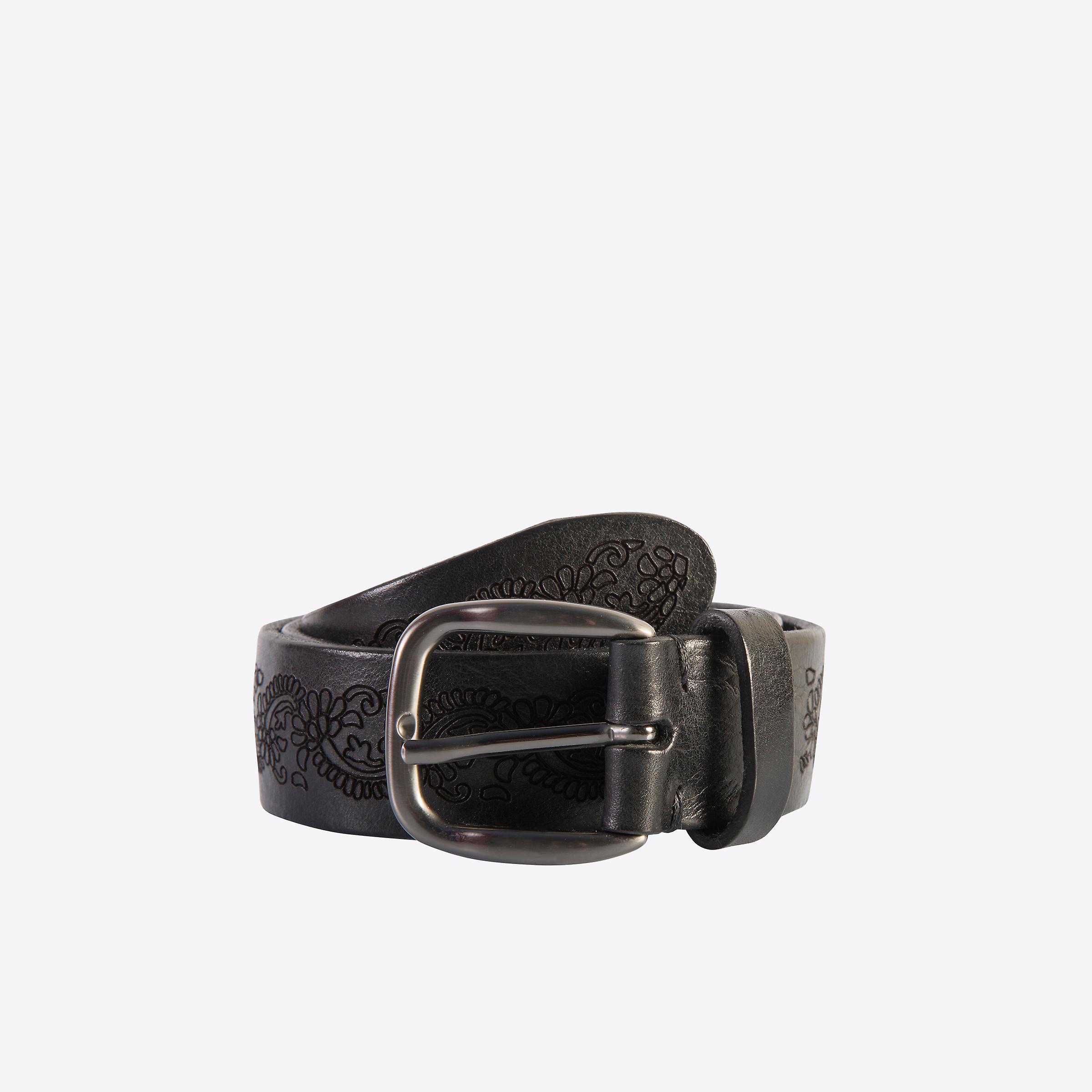 Fabio Giovanni Mantano Belt - High Quality Floral Leather Belt