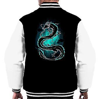 Shadow Of The Dragon Spirited Away Men's Varsity Jacket