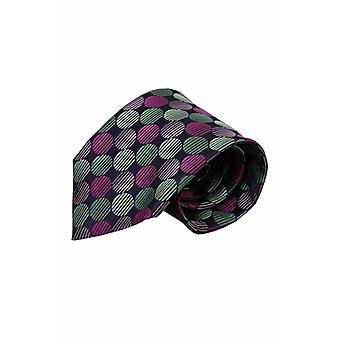 Purple silk tie VC64