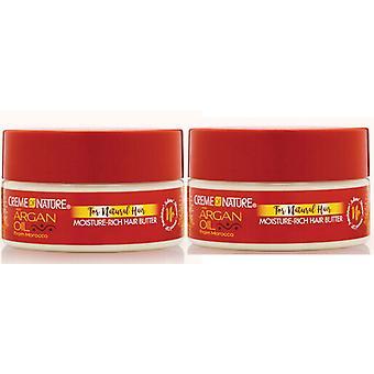Creme of Nature Argan Moisture Rich Hair Butter 213g (2-PACK)