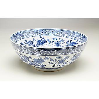 AA, importowanie 59816 miska niebieski i biały
