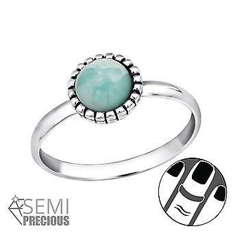 Round - 925 Sterling Silver Midi Rings - W30308x