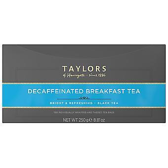 Taylors Of Harrogate Decaffeinated Enveloped Tea Bags