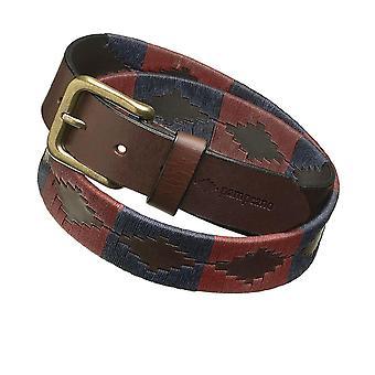 Pampeano Leather Jefe Polo Belt