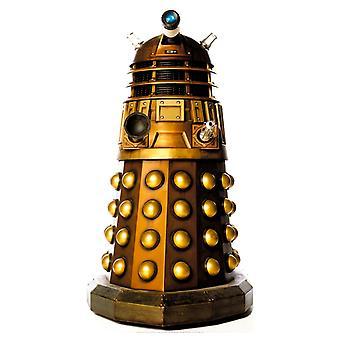Dalek (guld) (Doctor Who) - Lifesize kartong släppandet / stående