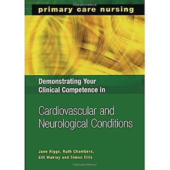 Demonstrere din kliniske kompetanse i kardiovaskulære og nevrologiske forhold (primærhelsetjenesten sykepleie)
