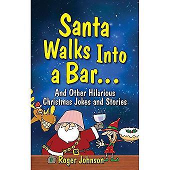 Santa entra em um Bar
